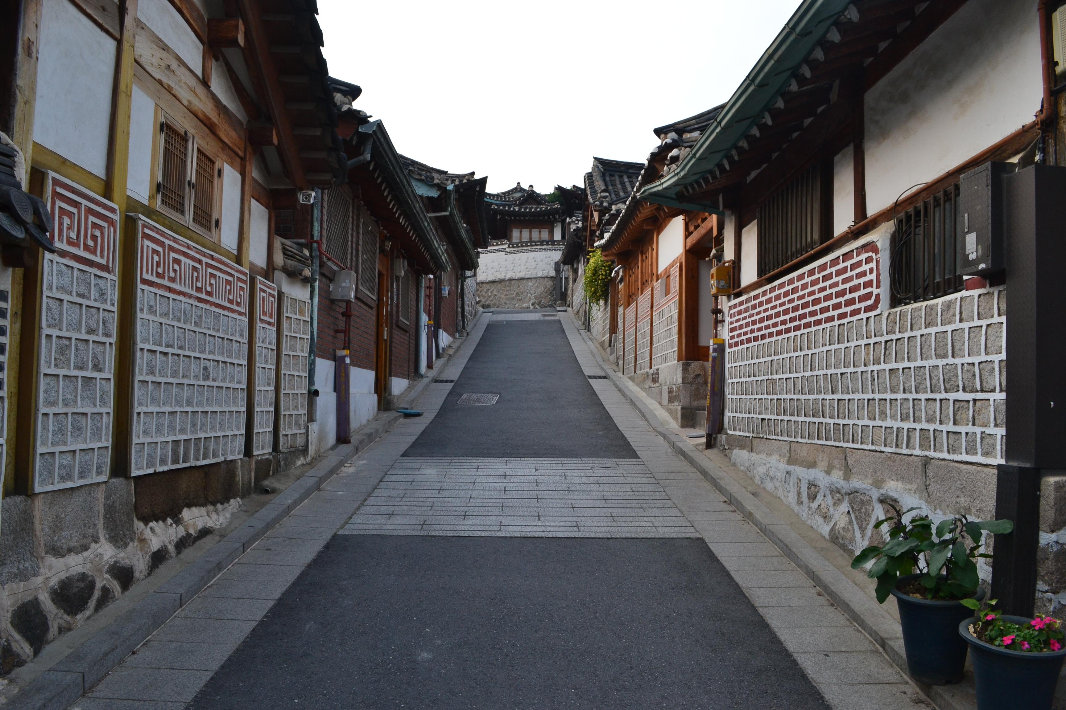 Bukchon Hanok Village Seoul South Korea Life Army Wife Style