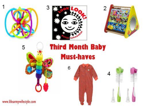 3rd month favorites