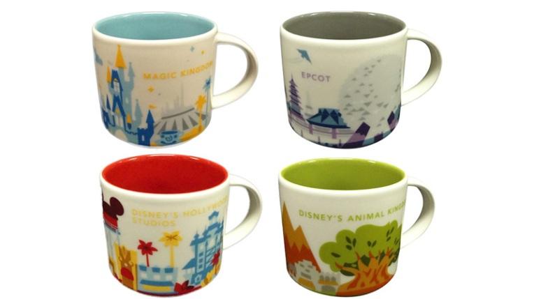 disney starbucks mugs