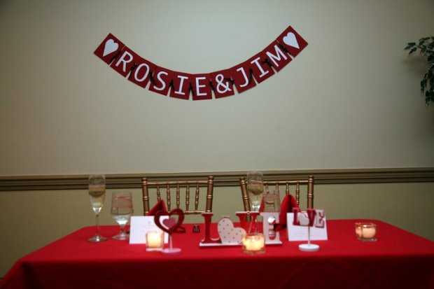 our table